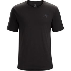 Arc'teryx A Squared Bluzka z krótkim rękawem Mężczyźni, black